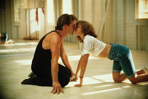 Patrick Swayze e Jennifer Grey