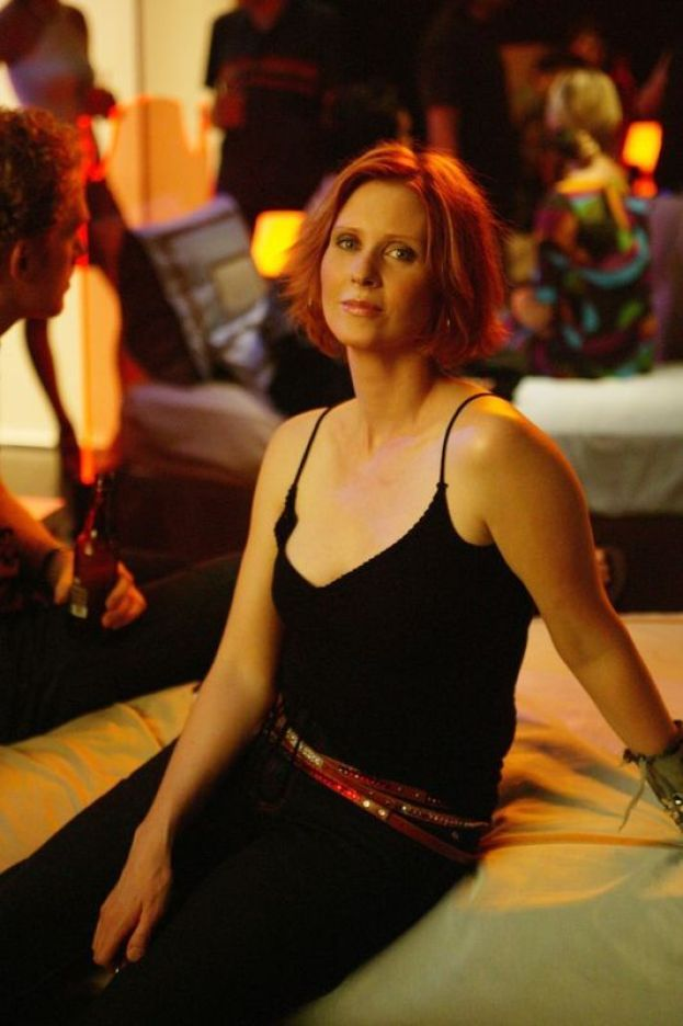 "CYNTHIA NIXON (MIRANDA DI ""SEX AND THE CITY"") - Ieri"