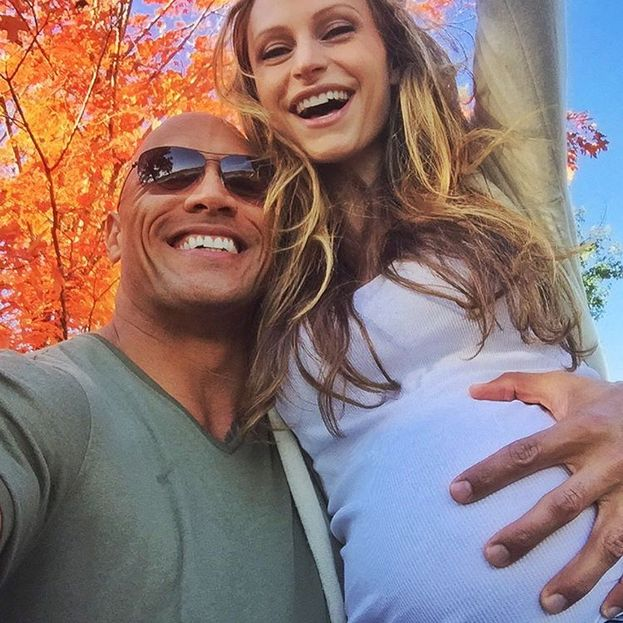 Dwayne 'The Rock' Johnson e Lauren Hashian