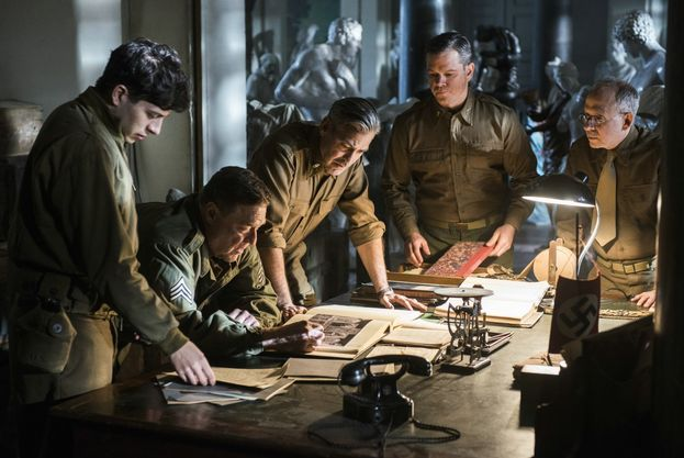 "Il cast di ""Monuments Men"" (2014)"
