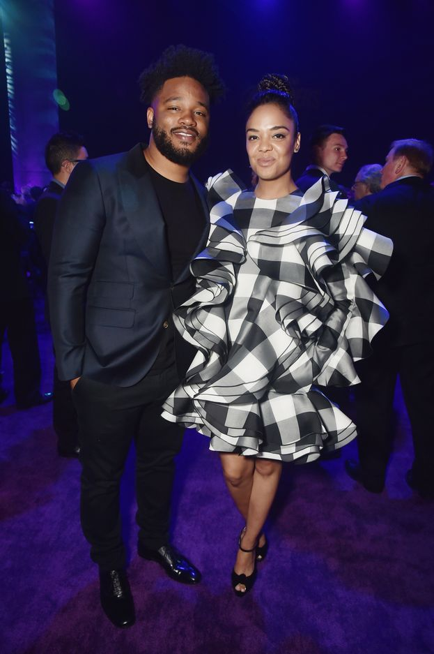 Ryan Coogler e Tessa Thompson