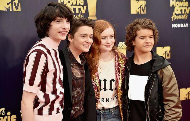 Il cast della serie Stranger Things