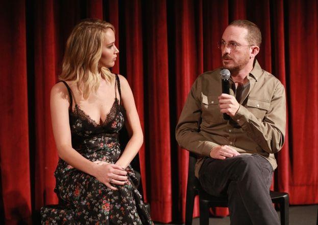 Darren Aronofsky e Jennifer Lawrence