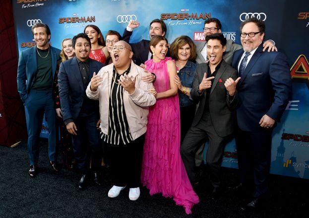 Il cast di Spider-Man: Far From Home