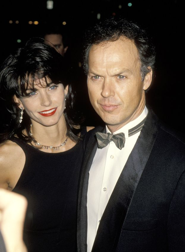 Courteney Cox e Michael Keaton, 1989-1995