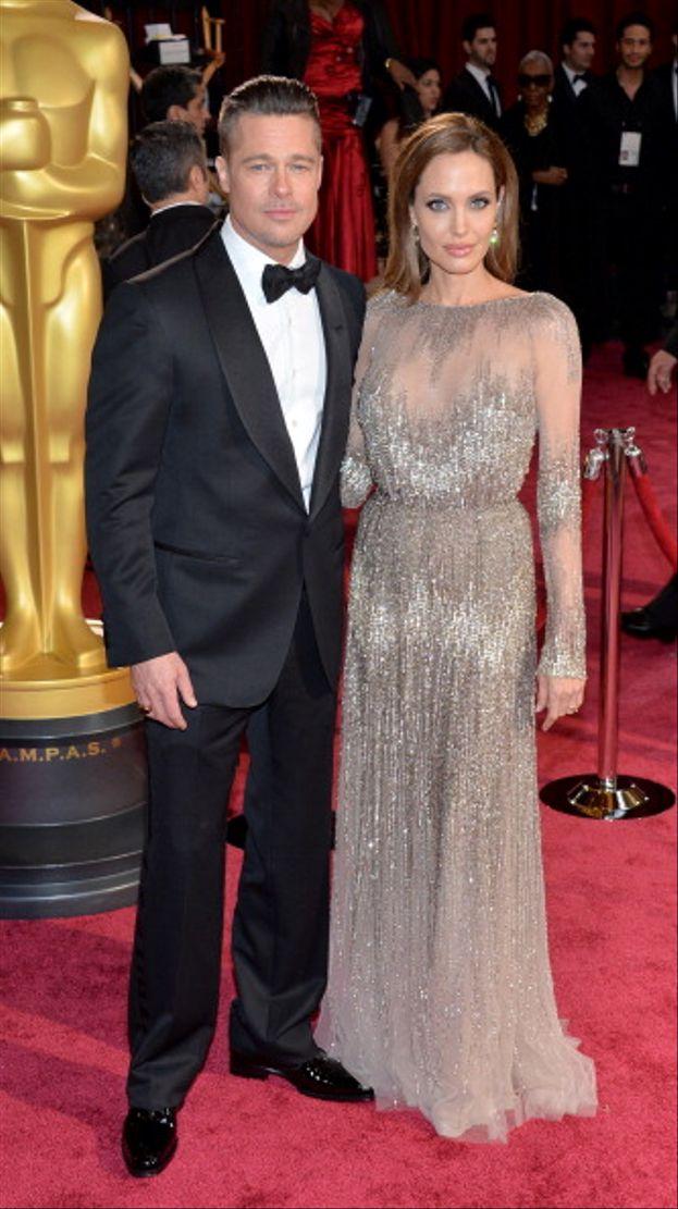 Brad Pitt e Angelina Jolie, Academy Awards 2014