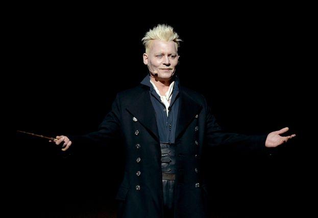 Johnny Depp (Animali fantastici - I crimini di Grindelwald)