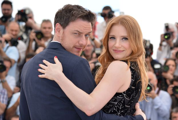 James McAvoy e Jessica Chastain