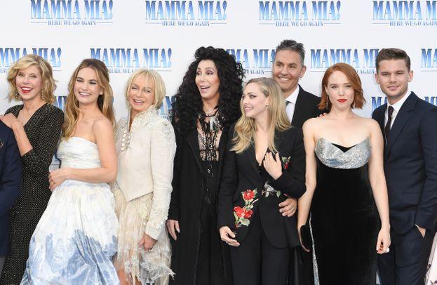 Il cast di Mamma Mia! Ci risiamo