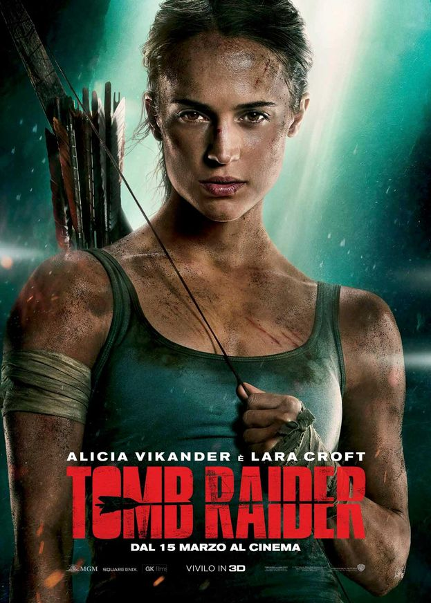 Tomb Raider, il poster italiano