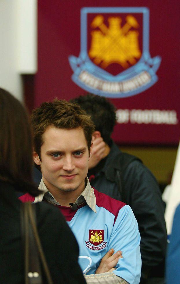 Elijah Wood - West Ham (calcio)