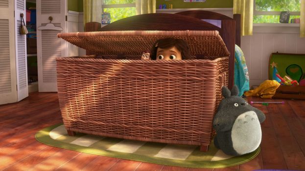 "Totoro in ""Toy Story 3"""