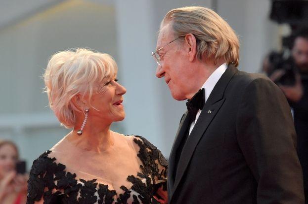 Helen Mirren e Donald Sutherland