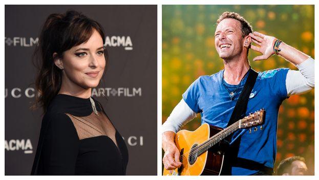 Dakota Johnson e Chris Martin