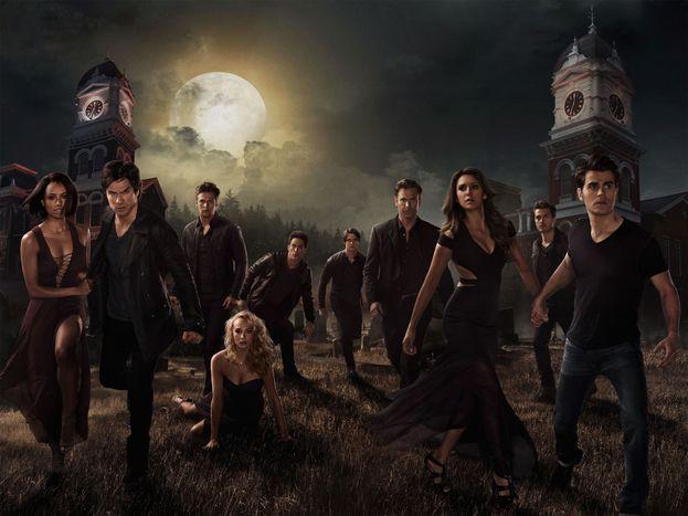 """""""The Vampire Diaries"""" (2009–2017)"""