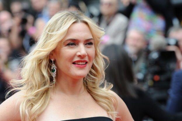 Kate Winslet e lo scroto in faccia