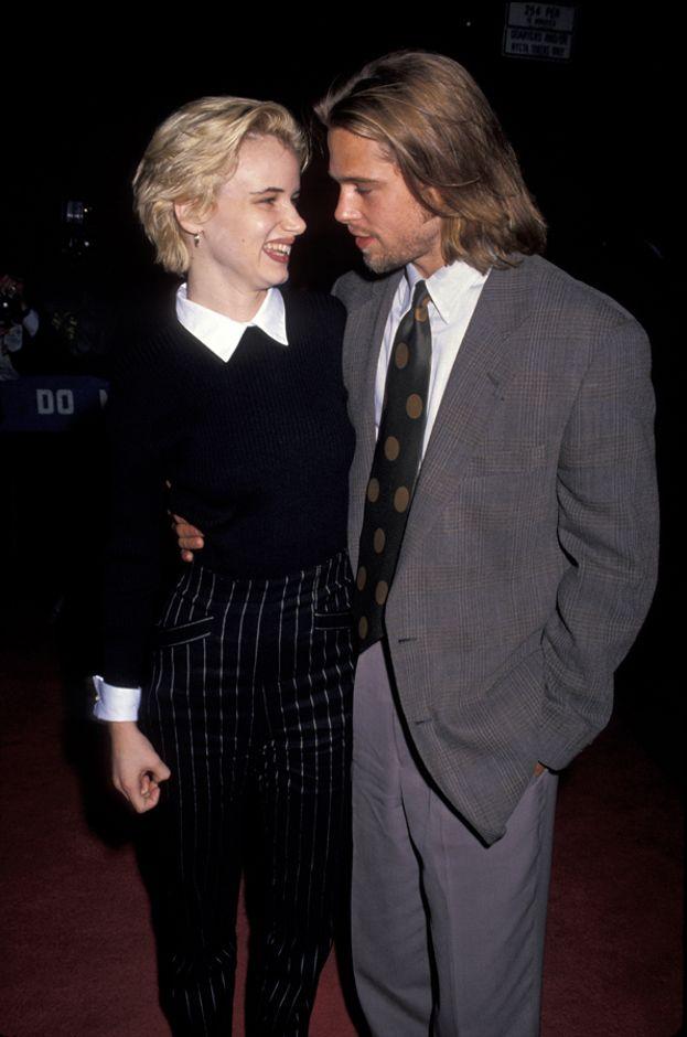 Juliette Lewis e Brad Pitt, 1989-1993