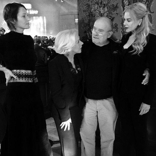 Uma Thurman, Helen Mirren, Peter Lindbergh e Nicole Kidman