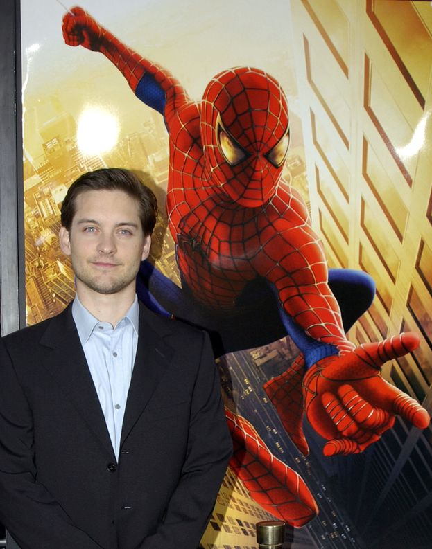 Tobey Maguire (Spider-Man, Spider-Man 2 e Spider-Man 3)