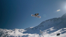 Il rider Davide Boggio in session a Corvatsch [Video]
