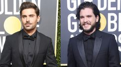Golden Globes 2018: Zac Efron, Joe Jonas, Kit Harington, tutti coi BAFFI sul red carpet