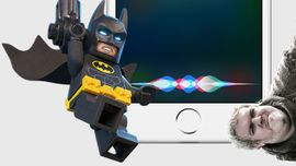 iPhone, Siri ama LEGO Batman...