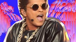 Bruno Mars, stilosissimo nel video di