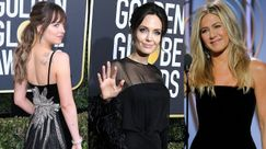 Dakota Johnson fissa Angelina Jolie mentre ignora Jennifer Aniston: il momento più strano dei Golden Globes 2018
