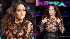 MTV VMA 2017, Demi Lovato: nude look sul red carpet