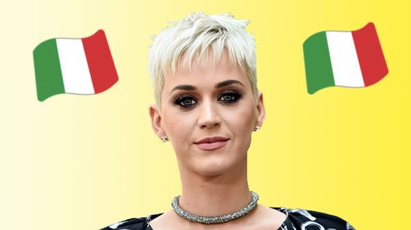 Katy Perry in vacanza in Italia!