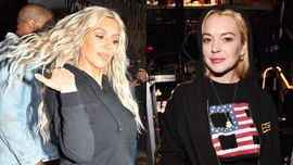 Kim Kardashian: lite con Lindsay Lohan,