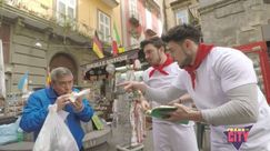 Prank and the City: i TheShow portano la polenta a Napoli, tra scherzi e superstizione