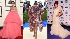 Hot Star of the Week, Rihanna: i 9 look più eccentrici che ha sfoggiato sui red carpet