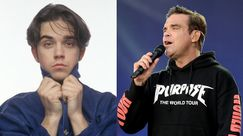 Then and Now, Robbie Williams: come è cambiato dai Take That a oggi