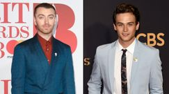 Sam Smith e Brandon Flynn fotografati in un bacio esagerato
