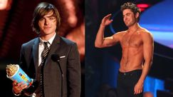 Zac Efron agli MTV Movie Awards: guarda la sua evoluzione sul red carpet dell'evento