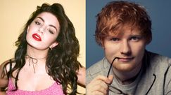 Charli XCX travestita da Ed Sheeran mentre canta in lip sync