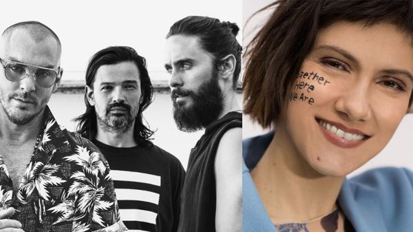 Elisa ha cantato con i Thirty Seconds to Mars durante il loro live a Roma