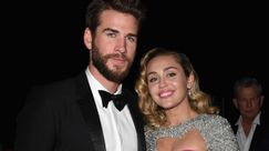Oscar 2018: Miley Cyrus in argento e rosa al party con Liam Hemsworth