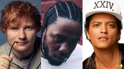 Ed Sheeran, Kendrick Lamar e Bruno Mars sono gli artisti con più nomination ai Billboard Music Awards 2018