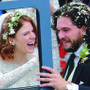 Kit Harington e Rose Leslie sposi, le foto del matrimonio di Game of Thrones!