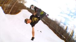 40 secondi di hardcore snowboarding con Mike Rav [Video]
