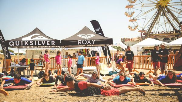 International Surf Expo 2018: a scuola di surf con Quiksilver e Roxy