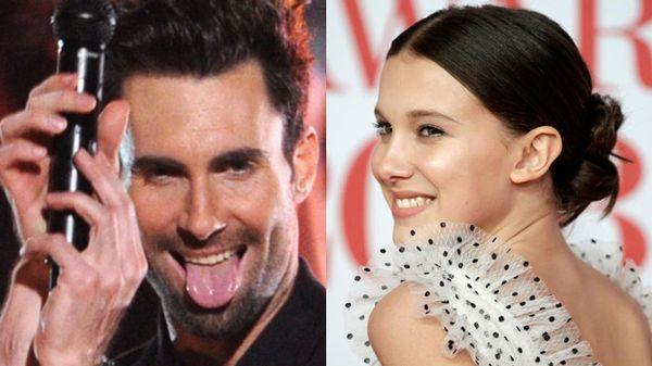 "I Maroon 5 hanno chiamato sul palco Millie Bobby Brown per cantare insieme ""Girls Like You"""