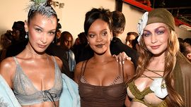 Rihanna, sfilata Savage X Fenty: top model, pop star e performance musicali da sballo