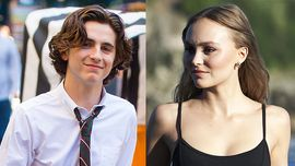 Timothée Chalamet e Lily-Rose Depp: un bacio conferma la storia