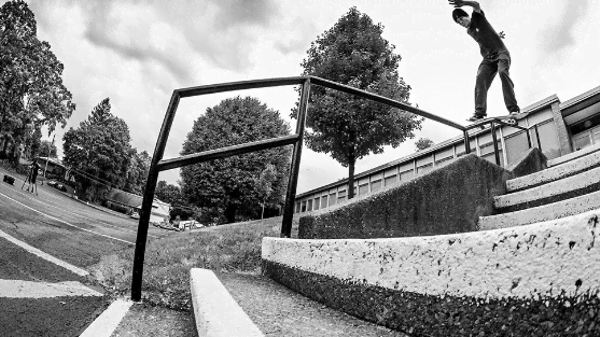 Una giornata con lo skater Chase Webb [Video]