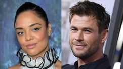 Chris Hemsworth e Tessa Thompson: in Italia per girare il reebot di