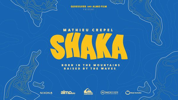 """Shaka"": fra onde e montagne, il teaser del nuovo video di Mathieu Crepél"