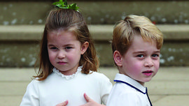 Royal Babies: George, Charlotte e Louis hanno un albero di Natale a testa a casa della nonna materna